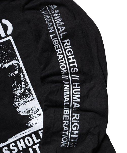 Official Artist Goods / バンドTなど |DROPDEAD / ドロップデッド:A×SHOLES DON'T GET IT LONGSLEEVE SHIRT (BLACK)商品画像6