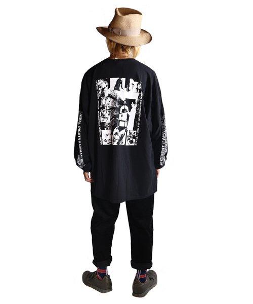 Official Artist Goods / バンドTなど |DROPDEAD / ドロップデッド:A×SHOLES DON'T GET IT LONGSLEEVE SHIRT (BLACK)商品画像9