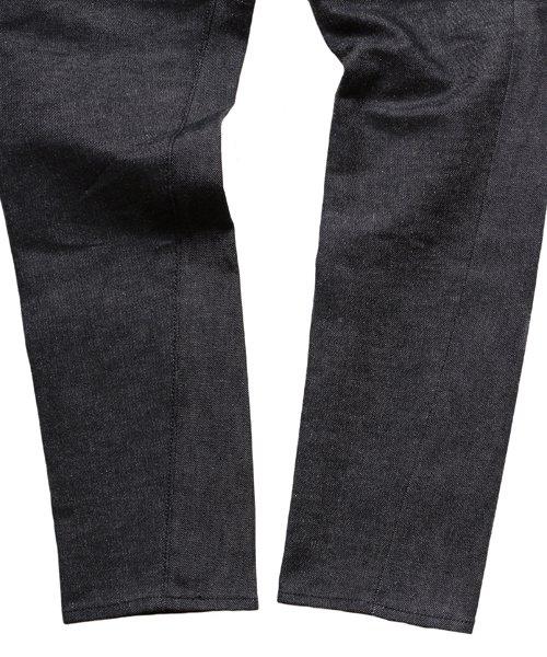 "RALEIGH / ラリー(RED MOTEL / レッドモーテル) | ""龍動黒騎"" Reverse Weave BLACK SLIM (LDN1977) with ""英吉利旗"" UNION… 商品画像11"