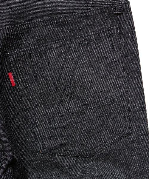 "RALEIGH / ラリー(RED MOTEL / レッドモーテル) | ""龍動黒騎"" Reverse Weave BLACK SLIM (LDN1977) with ""英吉利旗"" UNION… 商品画像13"