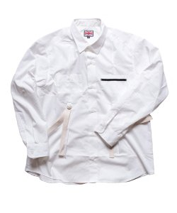 """RALEIGH / ラリー(RED MOTEL / レッドモーテル) /  """"ROMANTICISM"""" DRESS CODE OR HARNESS UP SHIRTS(WH)"""