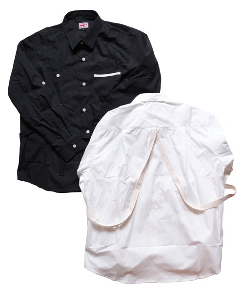 """RALEIGH / ラリー(RED MOTEL / レッドモーテル)   """"ROMANTICISM"""" DRESS CODE OR HARNESS UP SHIRTS(BK)商品画像2"""