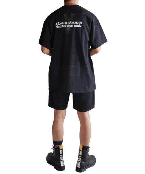 Official Artist Goods / バンドTなど  THROMBOSIS / スロンボーシス:DIVINE GOAT T-SHIRT (BLACK) 商品画像12