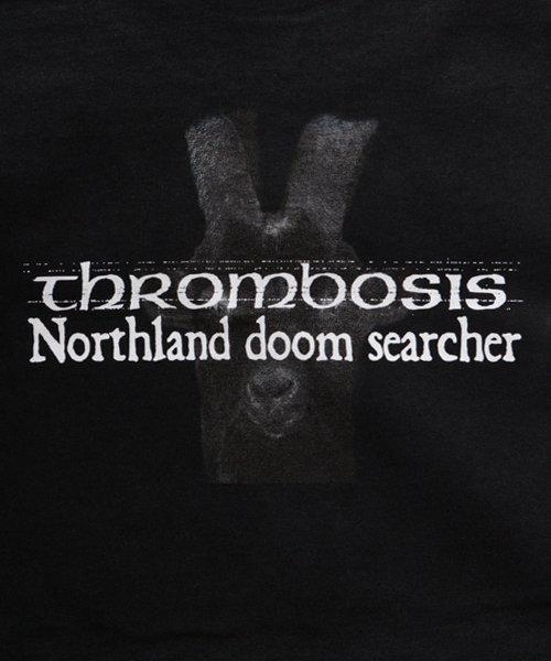 Official Artist Goods / バンドTなど  THROMBOSIS / スロンボーシス:DIVINE GOAT T-SHIRT (BLACK) 商品画像4