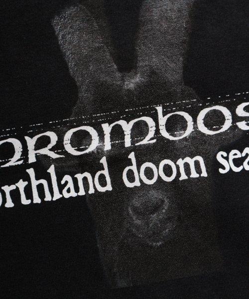 Official Artist Goods / バンドTなど  THROMBOSIS / スロンボーシス:DIVINE GOAT T-SHIRT (BLACK) 商品画像8