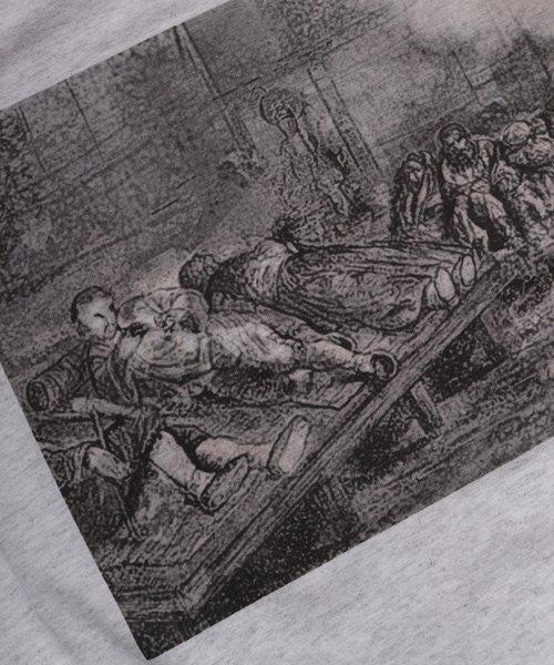 Official Artist Goods / バンドTなど |THROMBOSIS / スロンボーシス:EUPHORIC CHILL LONGSLEEVE SHIRT (ASH GRAY) 商品画像5