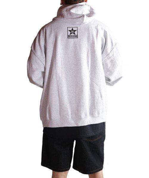 Official Artist Goods / バンドTなど  DRAIN / ドレイン:CALIFORNIA HARDCORE HOODED SWEATSHIRT (ASH GRAY) 商品画像15