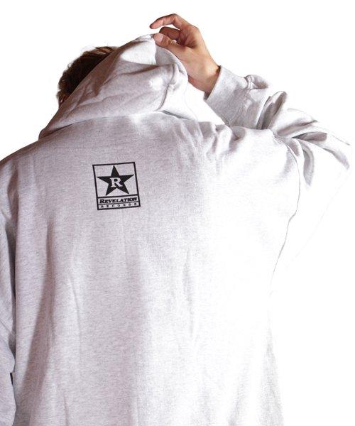 Official Artist Goods / バンドTなど  DRAIN / ドレイン:CALIFORNIA HARDCORE HOODED SWEATSHIRT (ASH GRAY) 商品画像17