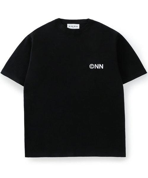 NIL DUE / NIL UN TOKYO / ニル デュエ / ニル アン トーキョー   TATTOO SWEAT TEE (USED BLACK) 商品画像1