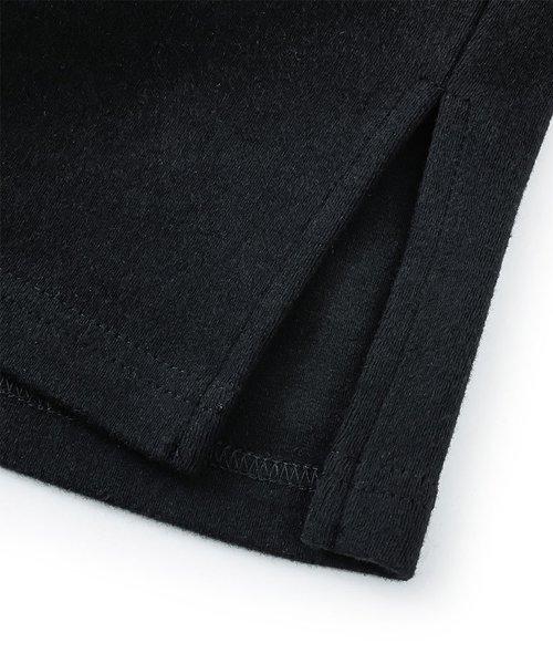 NIL DUE / NIL UN TOKYO / ニル デュエ / ニル アン トーキョー   TATTOO SWEAT TEE (USED BLACK) 商品画像3
