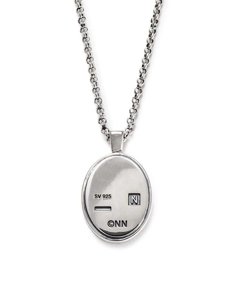 NIL DUE / NIL UN TOKYO / ニル デュエ / ニル アン トーキョー   CARVED SEAL NECKLACE (SILVER) 商品画像1