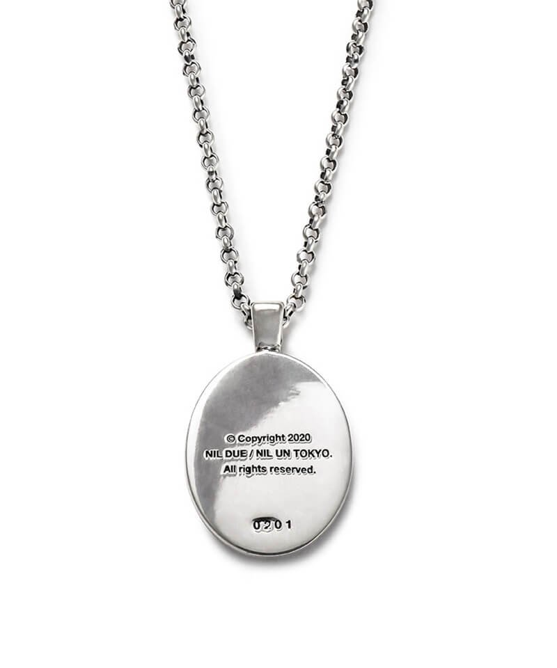 NIL DUE / NIL UN TOKYO / ニル デュエ / ニル アン トーキョー   CARVED SEAL NECKLACE (SILVER) 商品画像2