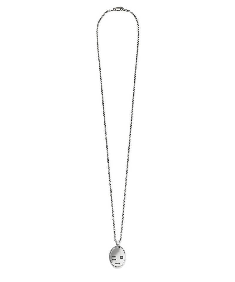 NIL DUE / NIL UN TOKYO / ニル デュエ / ニル アン トーキョー   CARVED SEAL NECKLACE (SILVER) 商品画像3