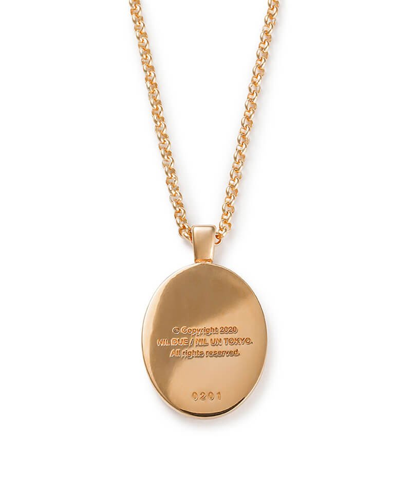 NIL DUE / NIL UN TOKYO / ニル デュエ / ニル アン トーキョー | CARVED SEAL NECKLACE (GOLD) 商品画像2