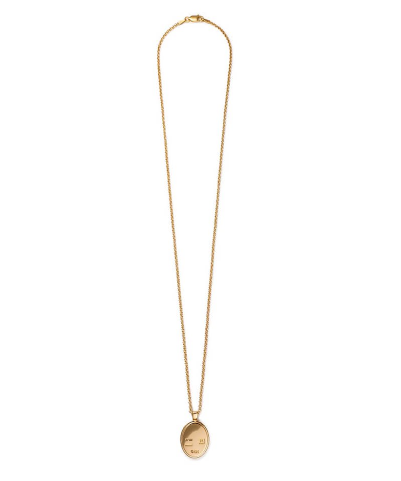 NIL DUE / NIL UN TOKYO / ニル デュエ / ニル アン トーキョー | CARVED SEAL NECKLACE (GOLD) 商品画像3