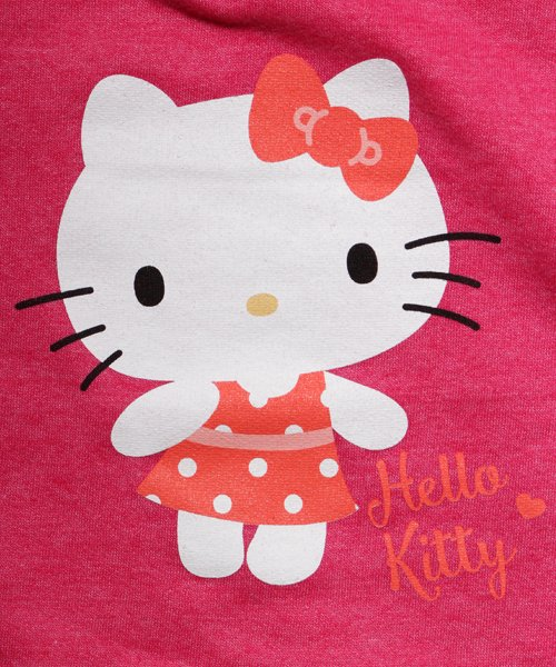 Official Artist Goods / バンドTなど  HELLO KITTY / ハローキティ:POLKA DOTS CREW NECK SWEATER (WASHED PINK) 商品画像1