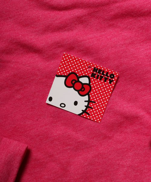 Official Artist Goods / バンドTなど  HELLO KITTY / ハローキティ:POLKA DOTS CREW NECK SWEATER (WASHED PINK) 商品画像5