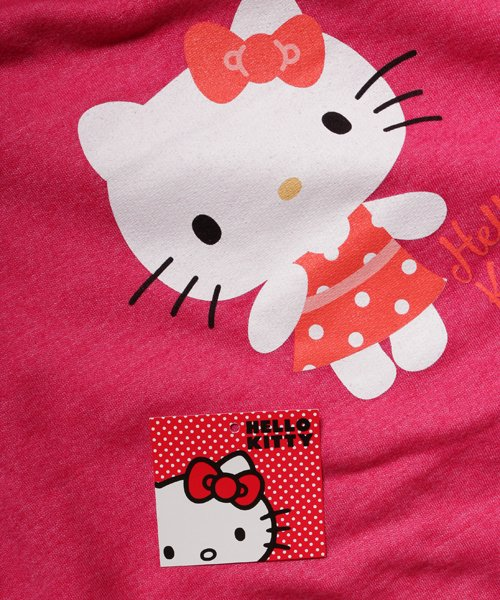 Official Artist Goods / バンドTなど  HELLO KITTY / ハローキティ:POLKA DOTS CREW NECK SWEATER (WASHED PINK) 商品画像6