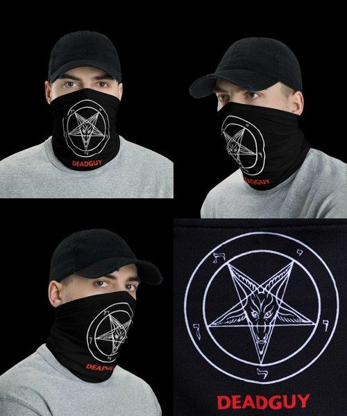 Official Artist Goods / バンドTなど |DEADGUY / デッドガイ:PENTAGRAM FACE MASK / NECK GAITER / HEAD BAND 商品画像3