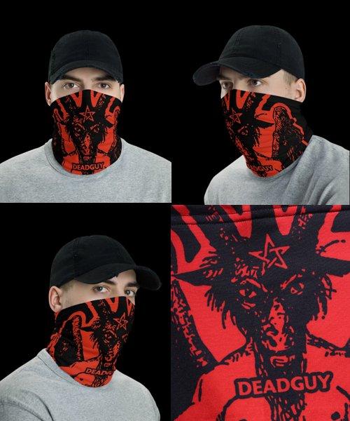 Official Artist Goods / バンドTなど |DEADGUY / デッドガイ:BAPHOMET FACE MASK / NECK GAITER / HEAD BAND 商品画像4