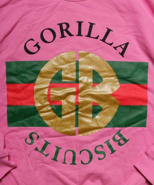 Official Artist Goods / バンドTなど  GORILLA BISCUITS / ゴリラ ビスケッツ:GUCCI CREWNECK SWEATSHIRT (GLITTER AZALEA) 商品画像1