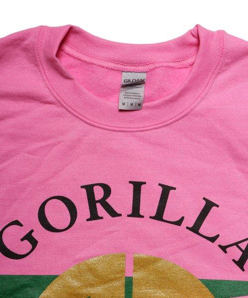 Official Artist Goods / バンドTなど  GORILLA BISCUITS / ゴリラ ビスケッツ:GUCCI CREWNECK SWEATSHIRT (GLITTER AZALEA) 商品画像3
