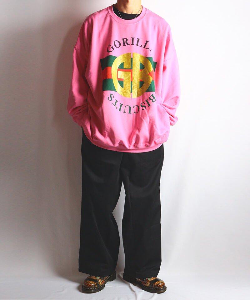 Official Artist Goods / バンドTなど  GORILLA BISCUITS / ゴリラ ビスケッツ:GUCCI CREWNECK SWEATSHIRT (GLITTER AZALEA) 商品画像6