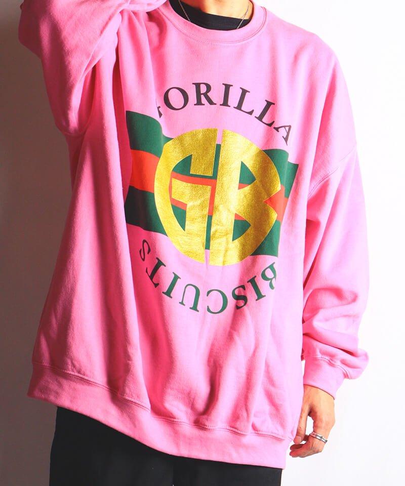 Official Artist Goods / バンドTなど  GORILLA BISCUITS / ゴリラ ビスケッツ:GUCCI CREWNECK SWEATSHIRT (GLITTER AZALEA) 商品画像8