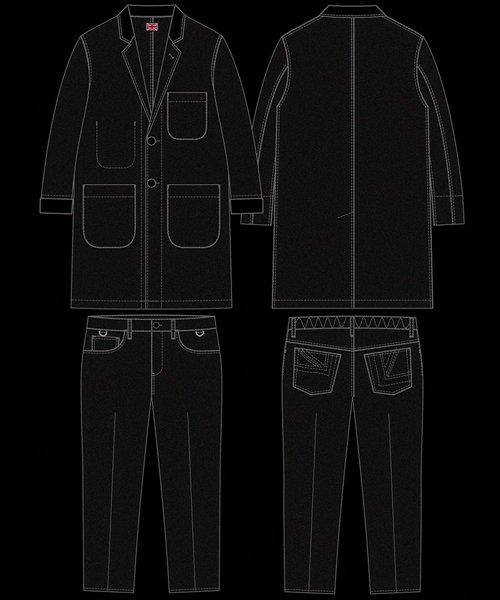 "RALEIGH / ラリー(RED MOTEL / レッドモーテル)   ""DESPERATELY SEEKING SUSAN"" TEDDY BOY JACKET & TROUSERS (BK) 商品画像10"