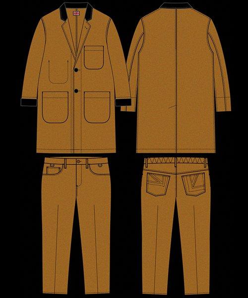 "RALEIGH / ラリー(RED MOTEL / レッドモーテル)   ""DESPERATELY SEEKING SUSAN"" TEDDY BOY JACKET & TROUSERS (CM) 商品画像10"