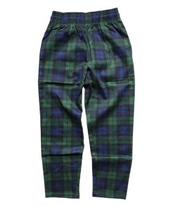 COOKMAN / クックマン /  CHEF PANTS (BLACK WATCH CHECK)