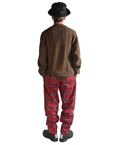 COOKMAN / クックマン | CHEF PANTS (TARTAN RED):チーフパンツ 商品画像14