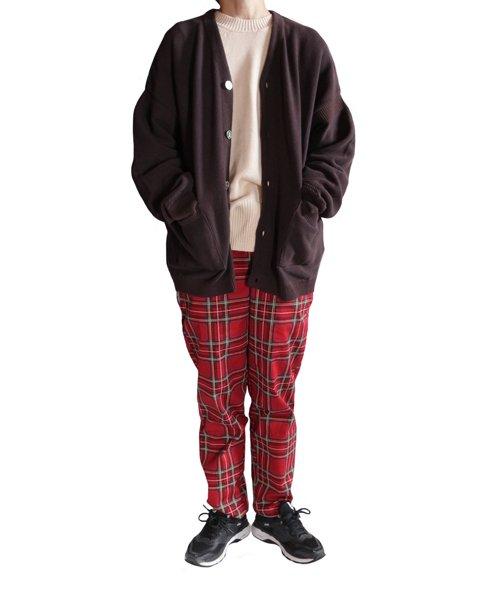 COOKMAN / クックマン | CHEF PANTS (TARTAN RED):チーフパンツ 商品画像18