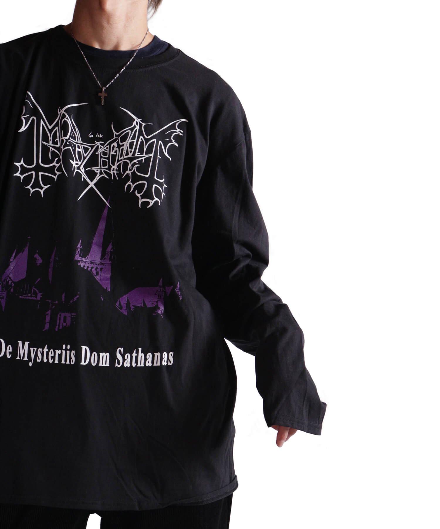 Official Artist Goods / バンドTなど |MAYHEM / メイヘム:DE MYSTERIIS DOM SATHANAS LONG SLEEVE SHIRT (BLACK) 商品画像15