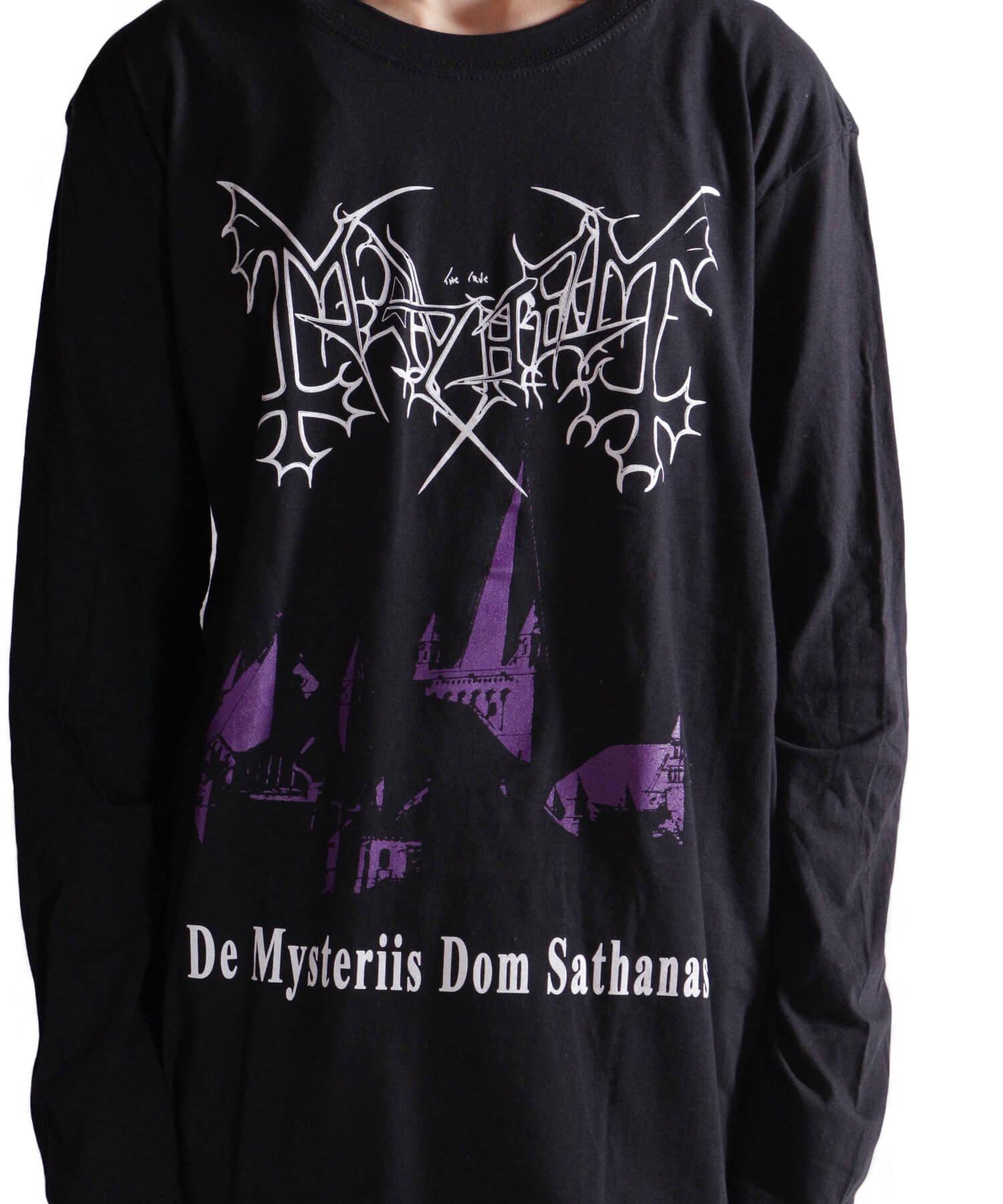 Official Artist Goods / バンドTなど |MAYHEM / メイヘム:DE MYSTERIIS DOM SATHANAS LONG SLEEVE SHIRT (BLACK) 商品画像21