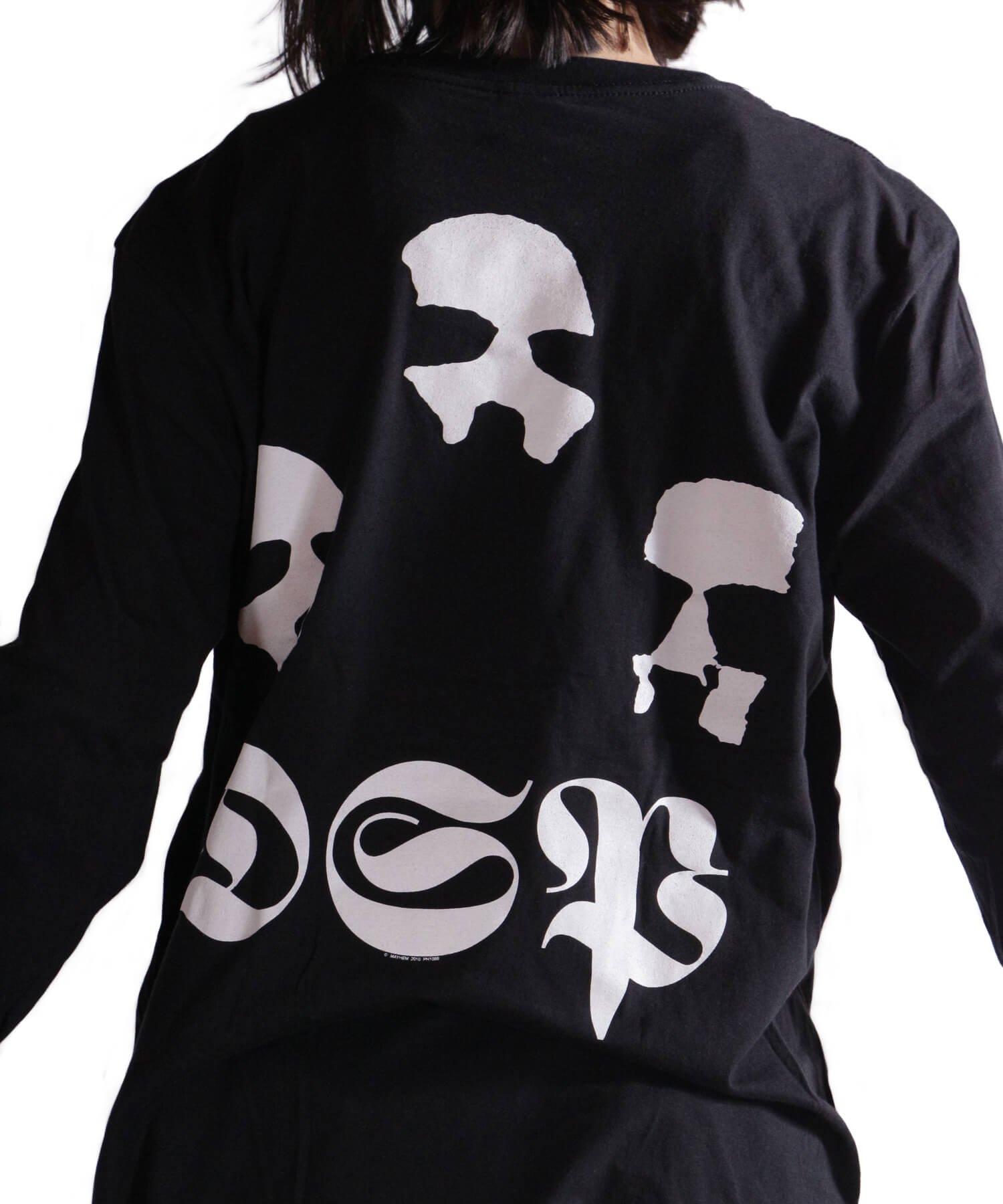 Official Artist Goods / バンドTなど |MAYHEM / メイヘム:DE MYSTERIIS DOM SATHANAS LONG SLEEVE SHIRT (BLACK) 商品画像22