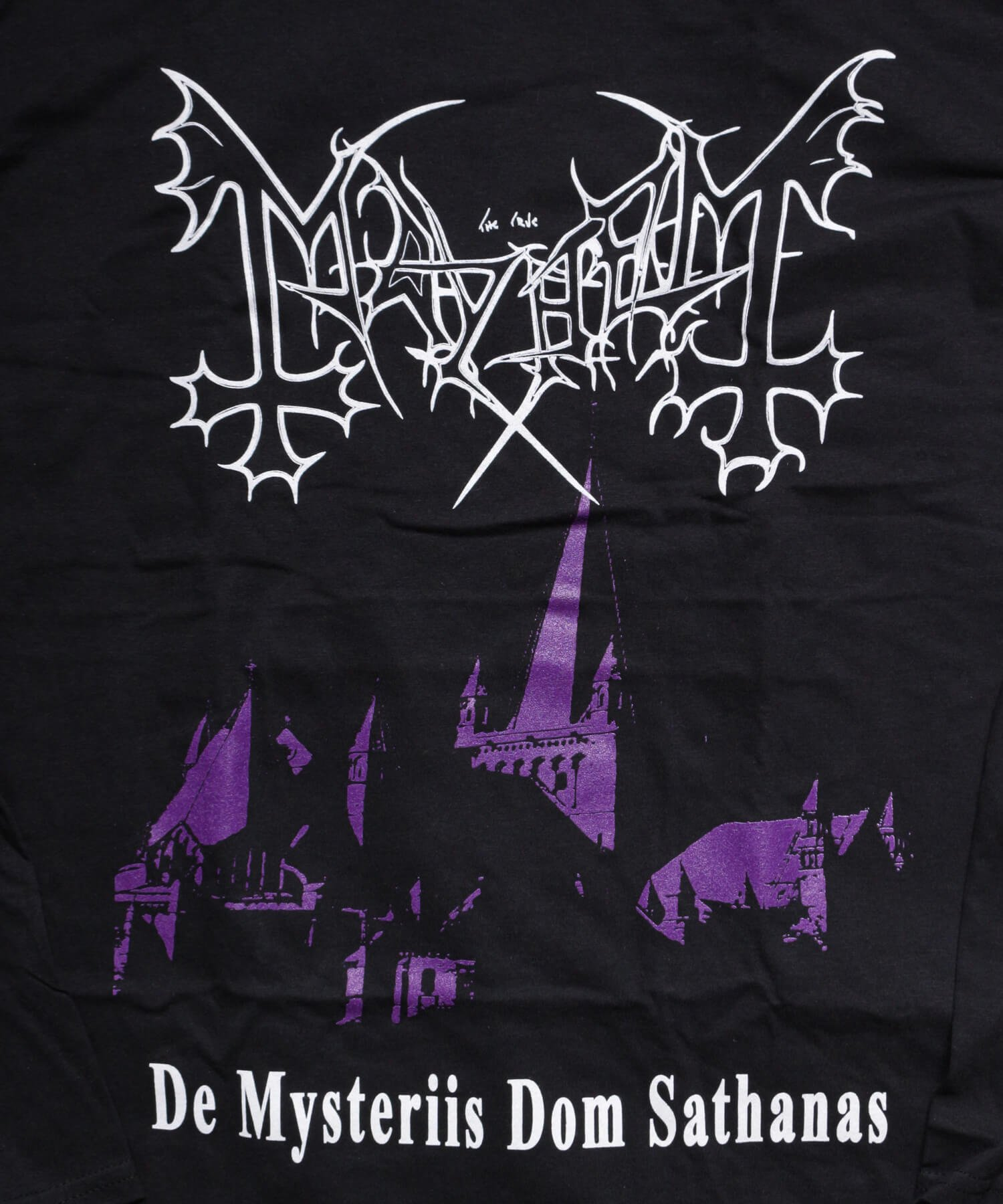 Official Artist Goods / バンドTなど |MAYHEM / メイヘム:DE MYSTERIIS DOM SATHANAS LONG SLEEVE SHIRT (BLACK) 商品画像3