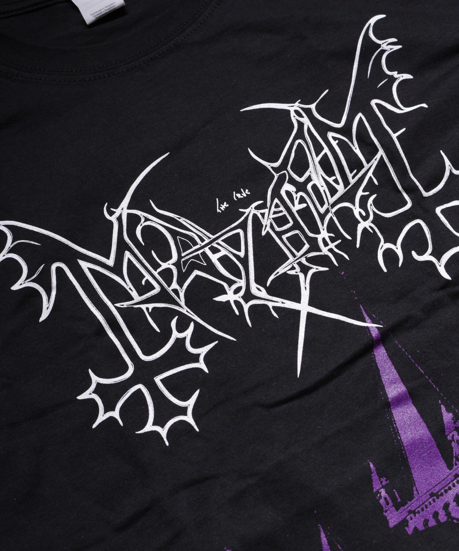 Official Artist Goods / バンドTなど |MAYHEM / メイヘム:DE MYSTERIIS DOM SATHANAS LONG SLEEVE SHIRT (BLACK) 商品画像5