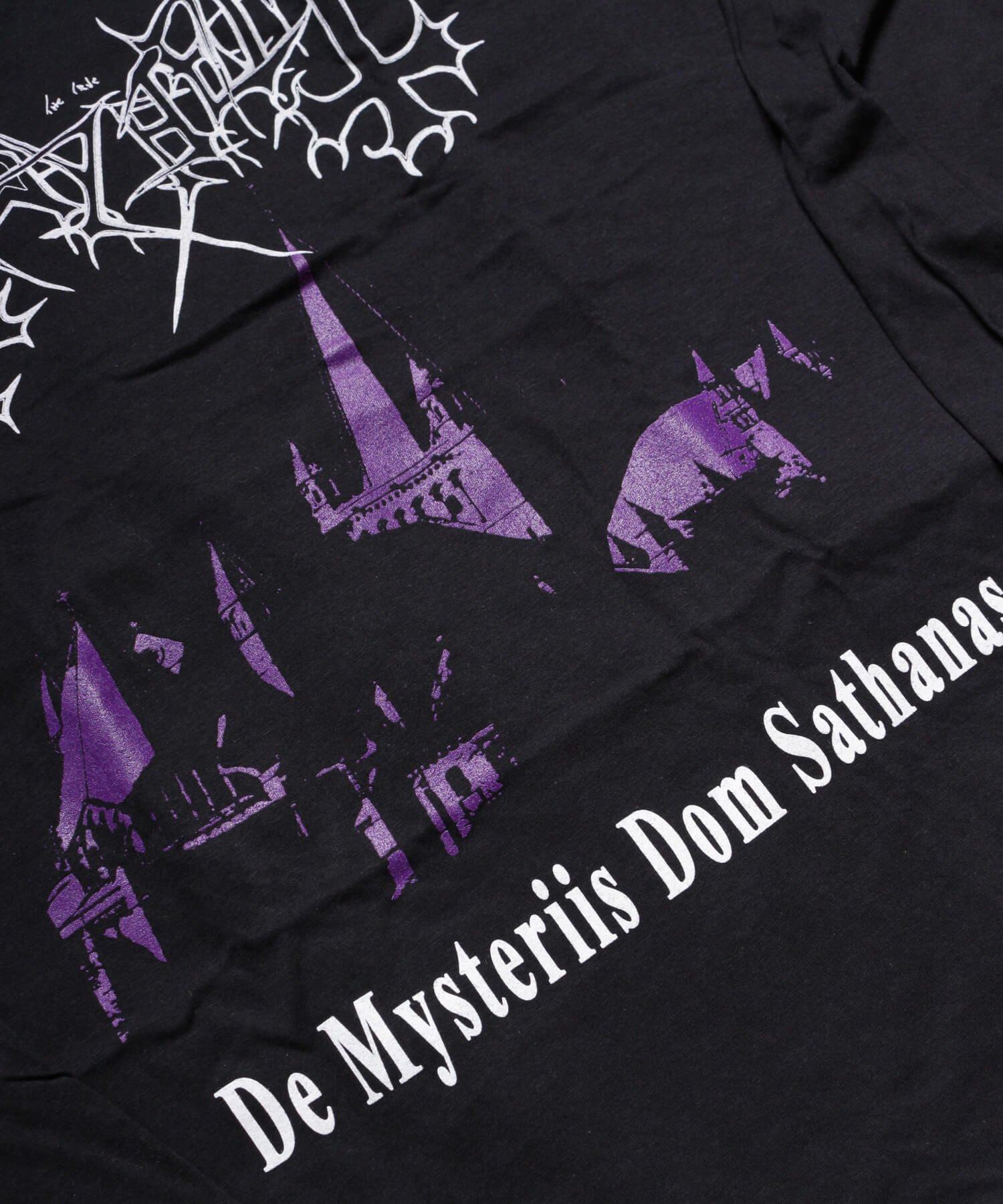 Official Artist Goods / バンドTなど |MAYHEM / メイヘム:DE MYSTERIIS DOM SATHANAS LONG SLEEVE SHIRT (BLACK) 商品画像6