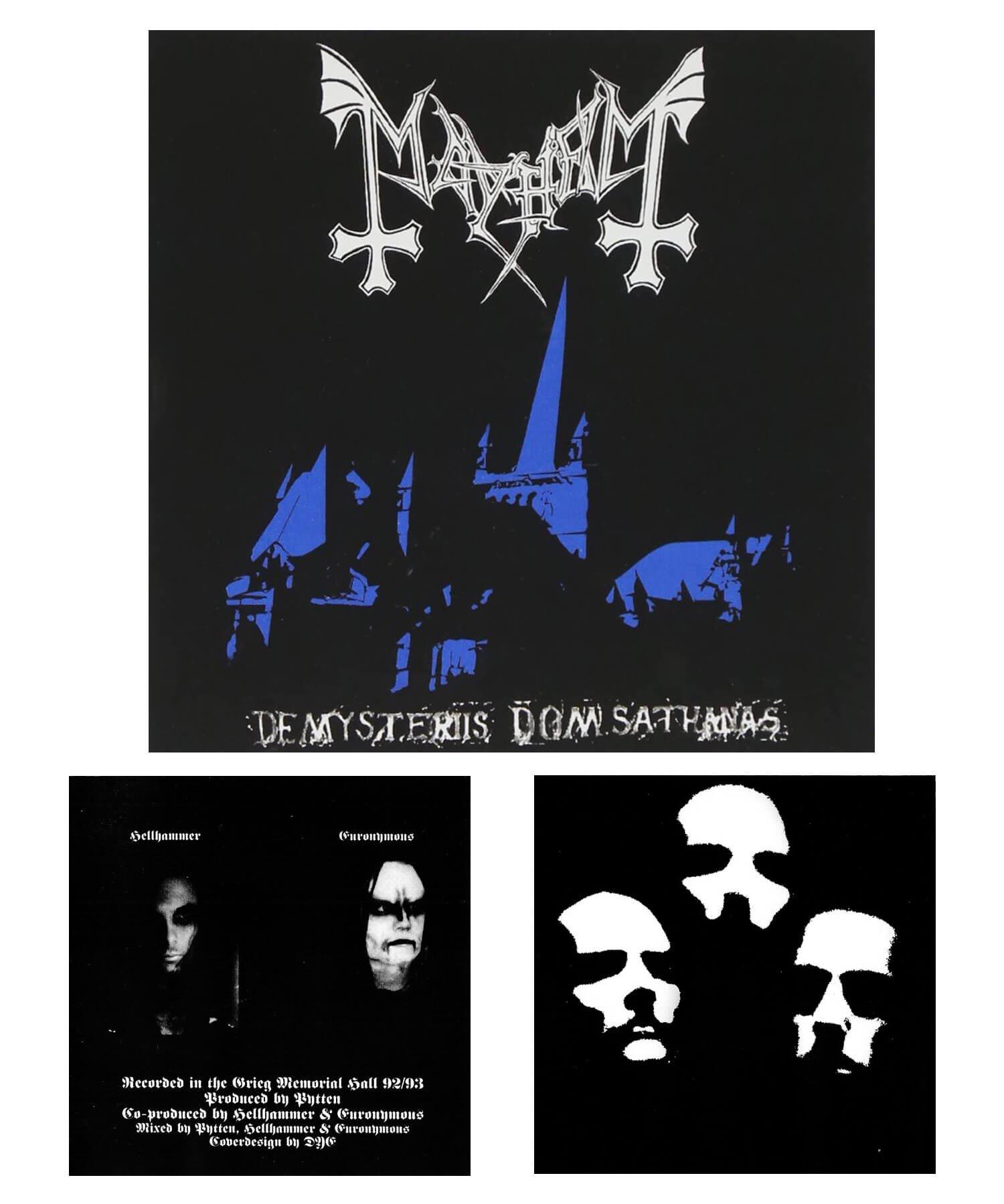 Official Artist Goods / バンドTなど |MAYHEM / メイヘム:DE MYSTERIIS DOM SATHANAS LONG SLEEVE SHIRT (BLACK) 商品画像8