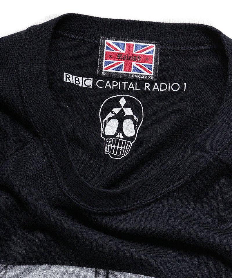 RALEIGH / ラリー(RED MOTEL / レッドモーテル) | RBC WORLD NEWS 3/4 SLEEVE T-SHIRTS (Loose Fit / BK) 商品画像2