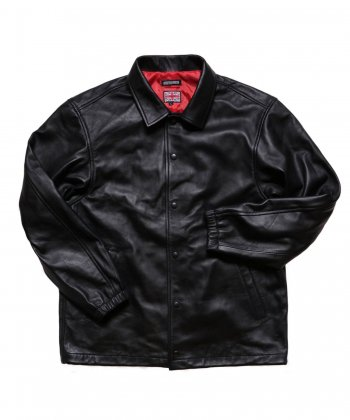 """RALEIGH / ラリー(RED MOTEL / レッドモーテル) /  RALEIGH x BOUNTY HUNTER """"DAWNING OF A NEW ERA"""" LEATHER COAC…"""