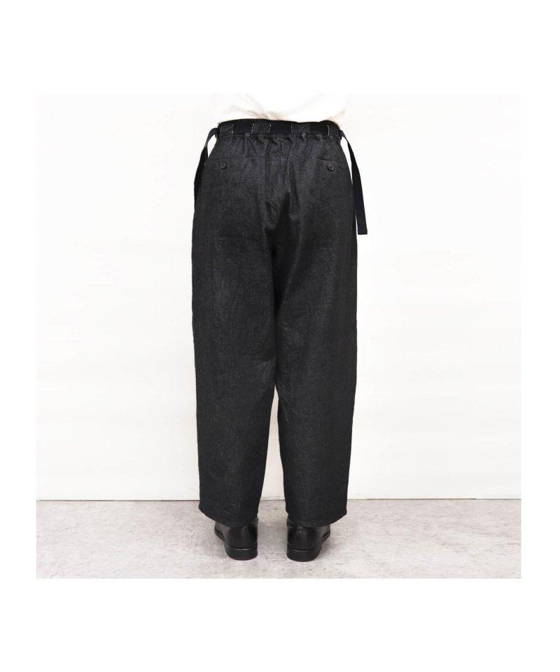 SAYATOMO / サヤトモ | HAKAMA AKANE PANTS (BLACK) 商品画像5