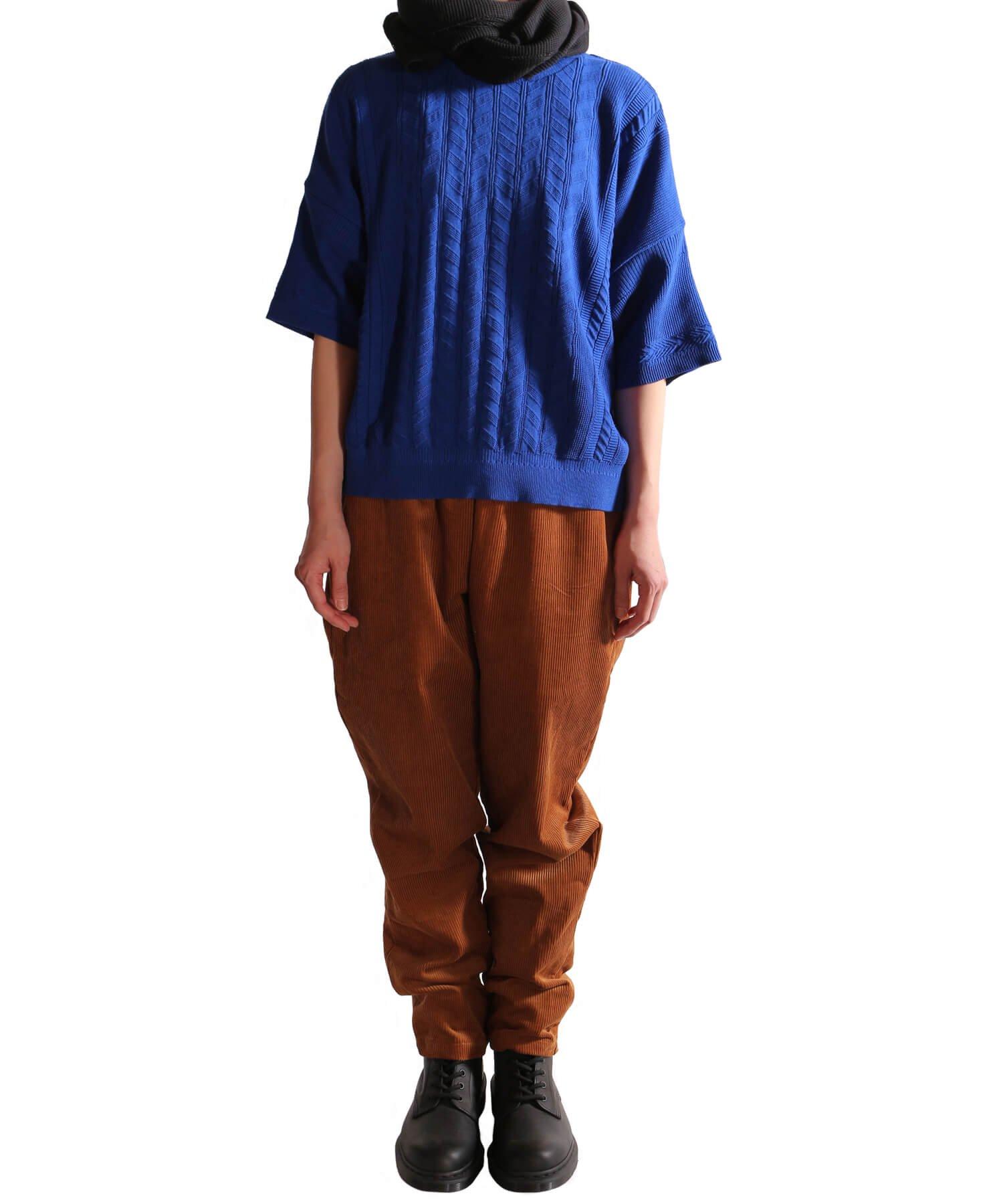 YASHIKI / ヤシキ |YASHIKI / ヤシキ × SIDEMILITIA inc. / サイドミリティア  RYUREI KNIT (LIMITED BLUE/WOMEN'S) 商品画像11