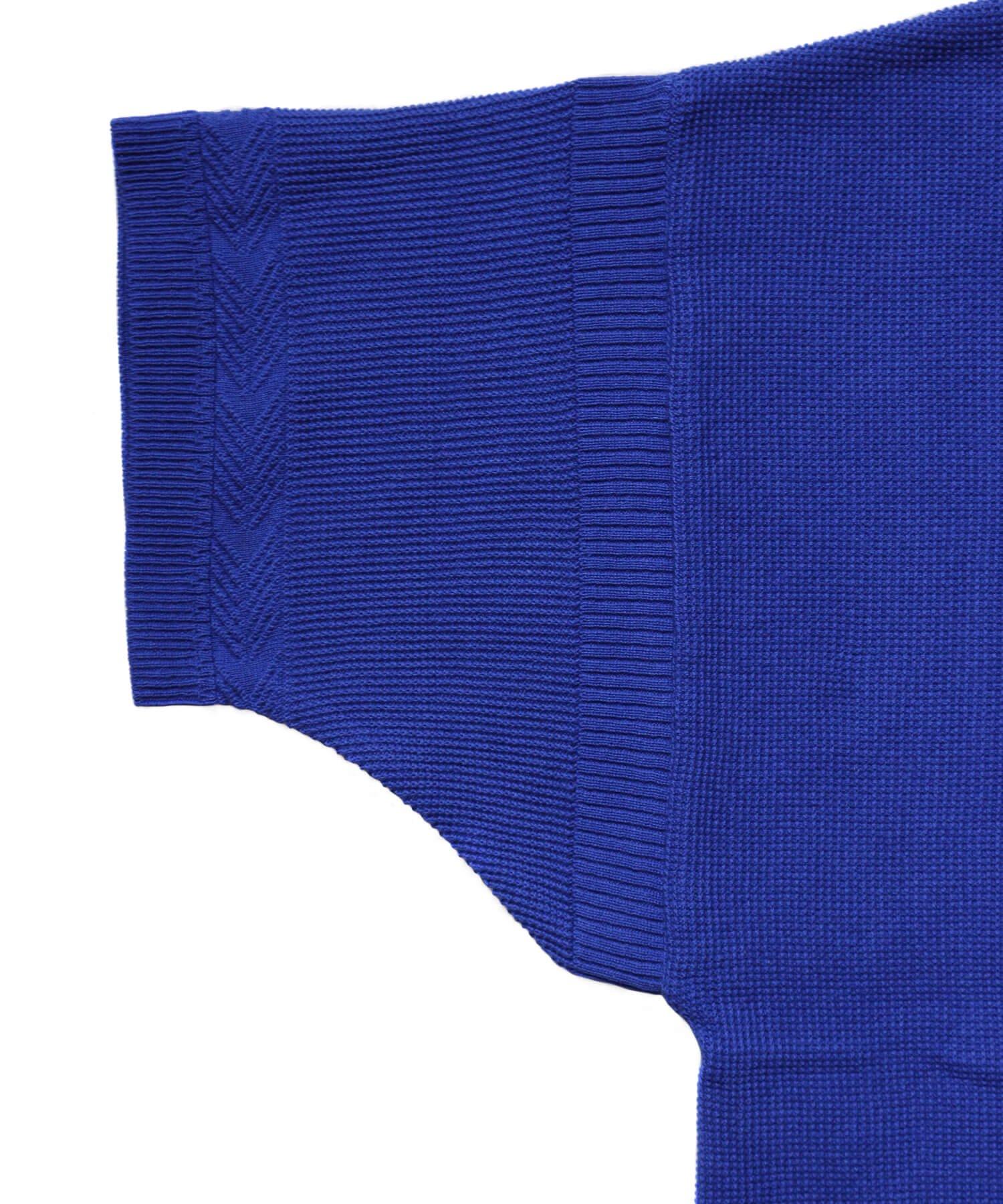 YASHIKI / ヤシキ |YASHIKI / ヤシキ × SIDEMILITIA inc. / サイドミリティア  RYUREI KNIT (LIMITED BLUE/WOMEN'S) 商品画像5