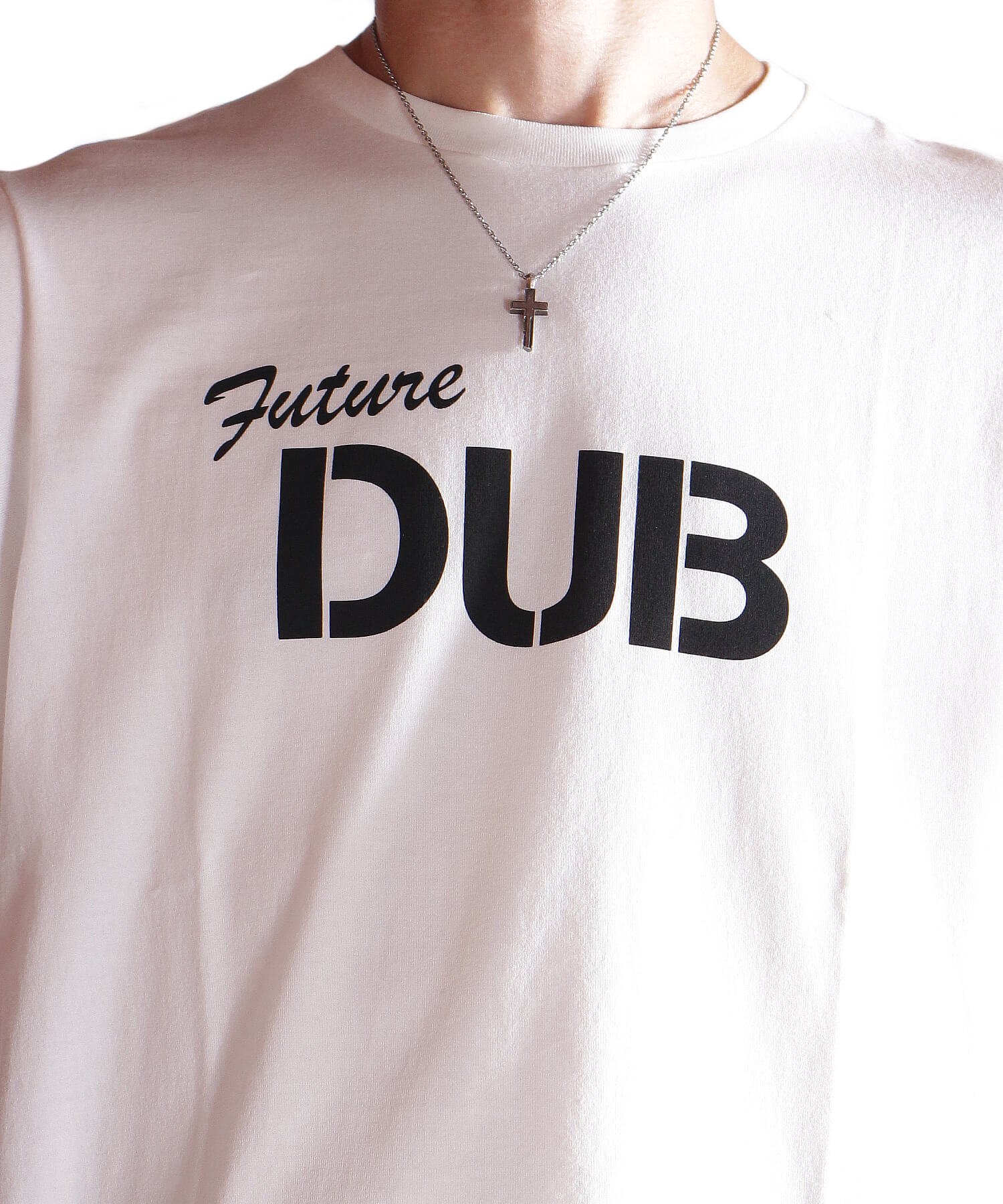 """RALEIGH / ラリー(RED MOTEL / レッドモーテル)   RALEIGH SOUND SYSTEM """"DUB OUR FUTURE"""" D.I.Y. T-SHIRTS (WH) 商品画像14"""