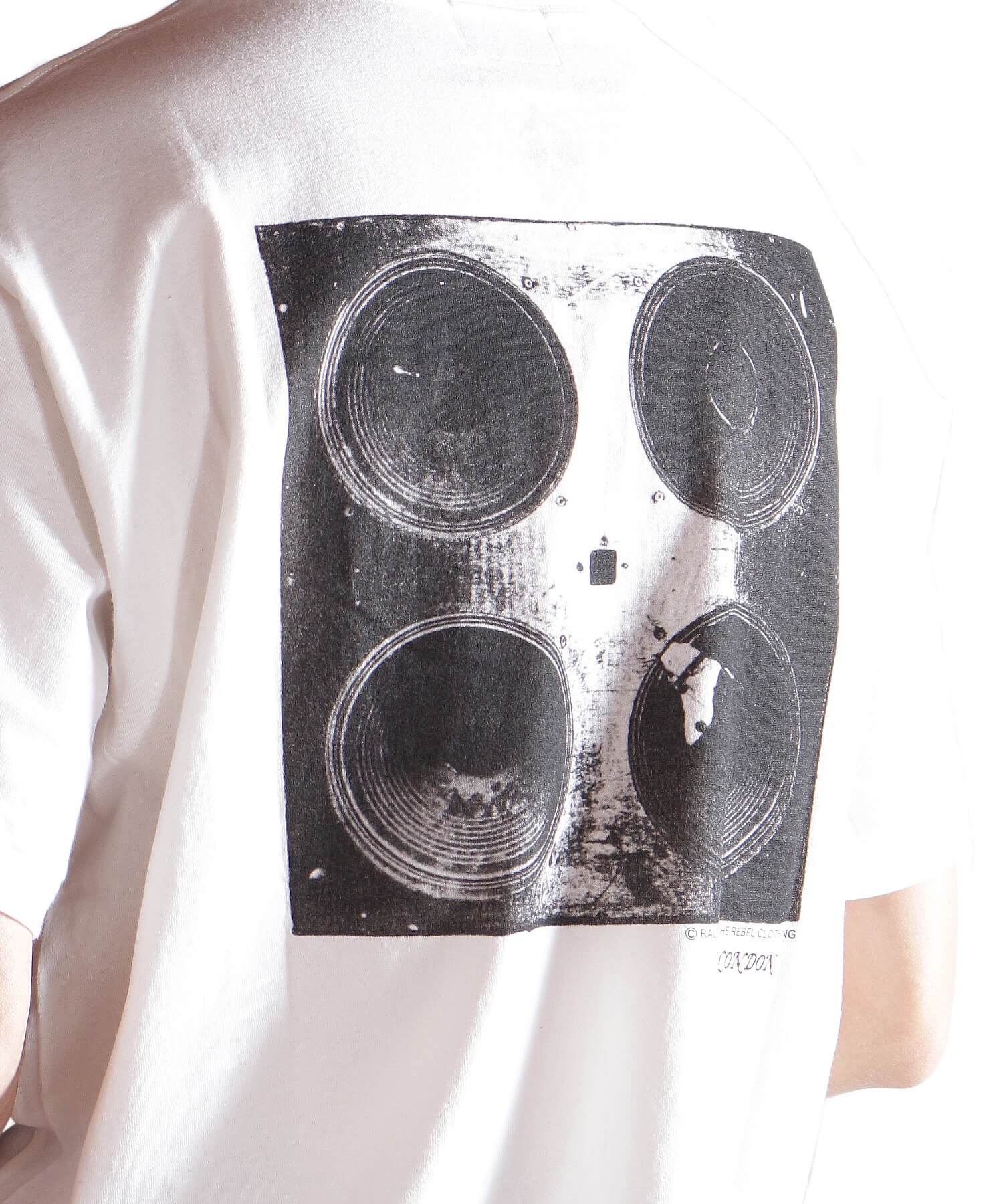 """RALEIGH / ラリー(RED MOTEL / レッドモーテル)   RALEIGH SOUND SYSTEM """"DUB OUR FUTURE"""" D.I.Y. T-SHIRTS (WH) 商品画像15"""