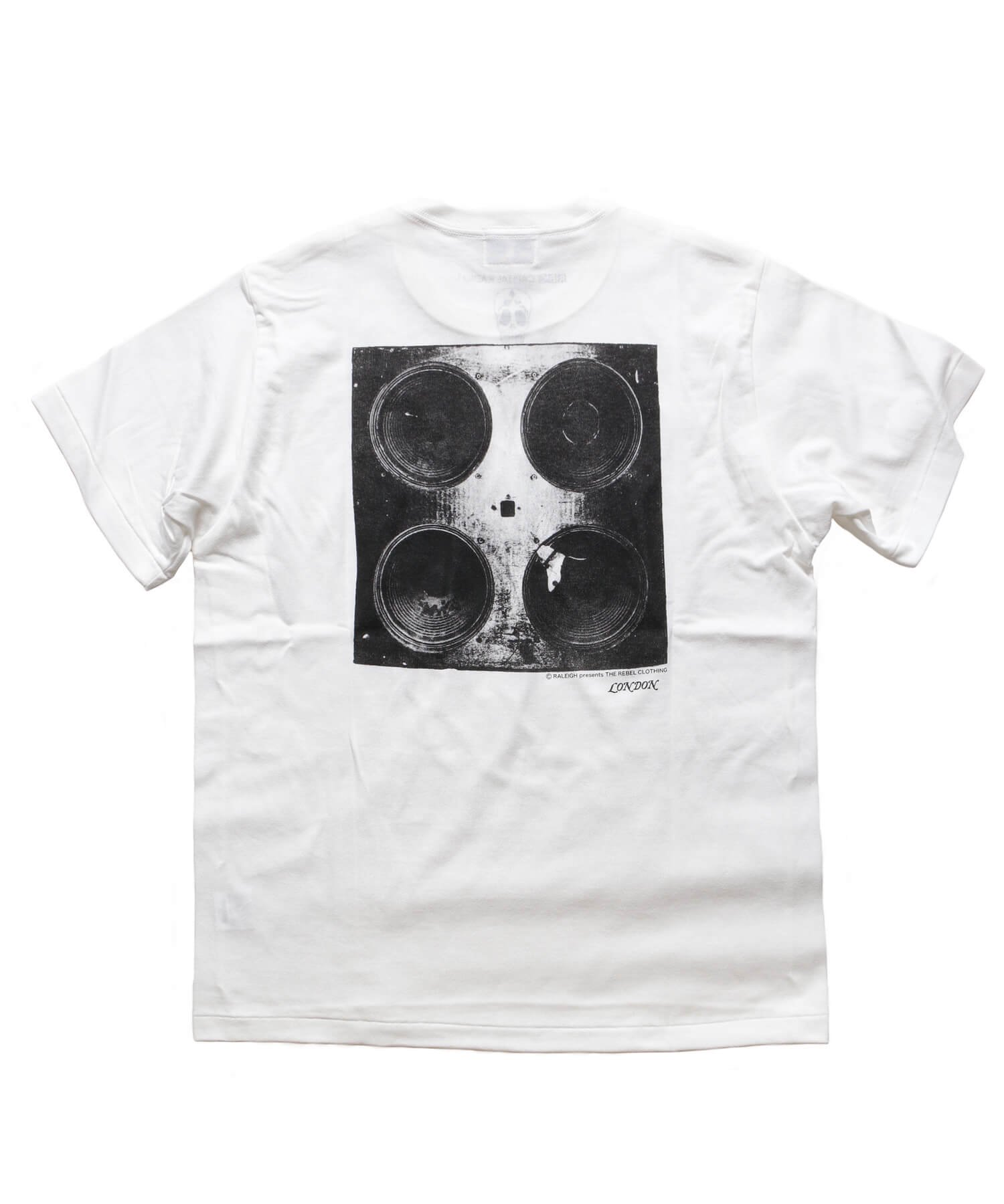 """RALEIGH / ラリー(RED MOTEL / レッドモーテル)   RALEIGH SOUND SYSTEM """"DUB OUR FUTURE"""" D.I.Y. T-SHIRTS (WH) 商品画像2"""