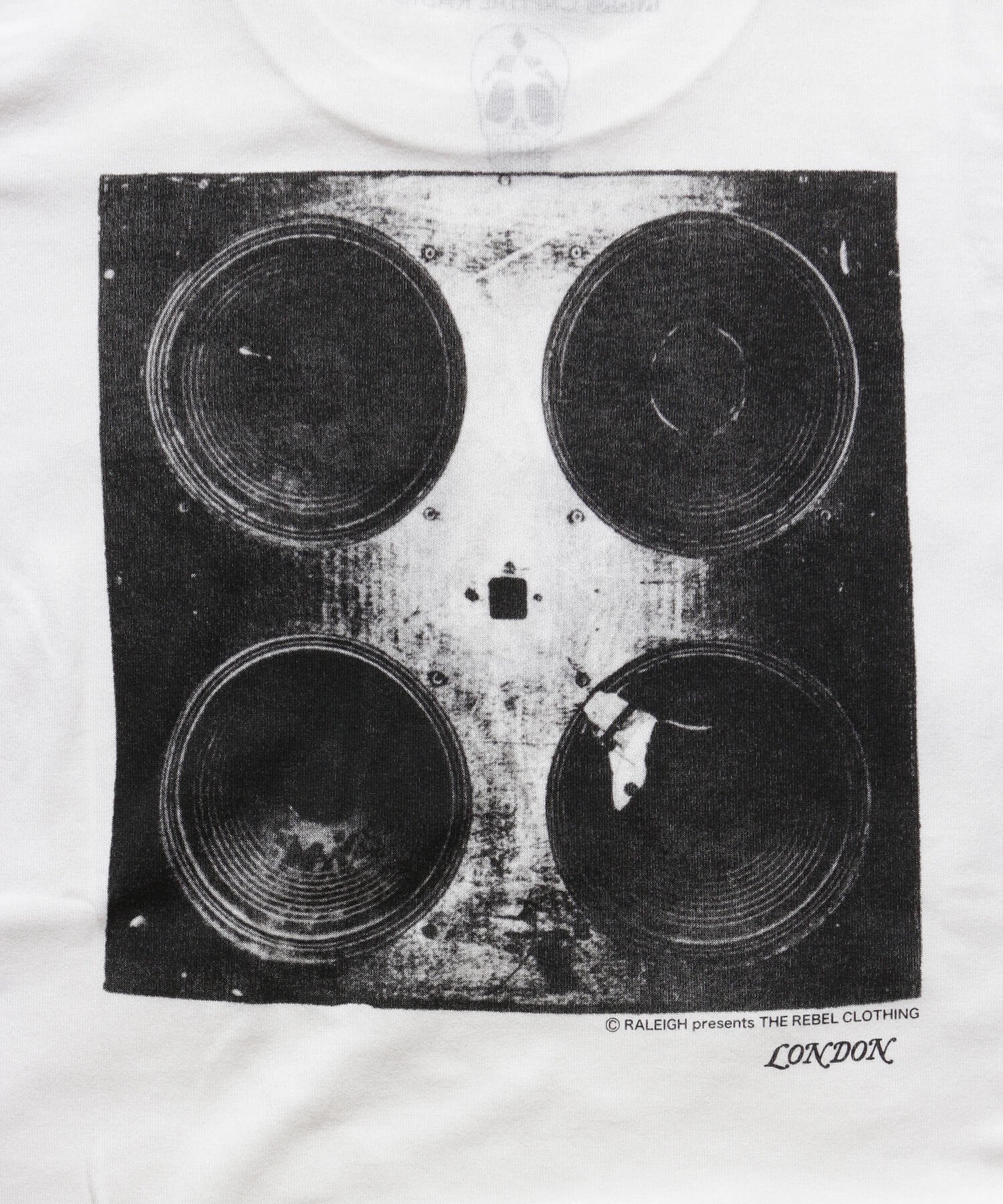 """RALEIGH / ラリー(RED MOTEL / レッドモーテル)   RALEIGH SOUND SYSTEM """"DUB OUR FUTURE"""" D.I.Y. T-SHIRTS (WH) 商品画像5"""