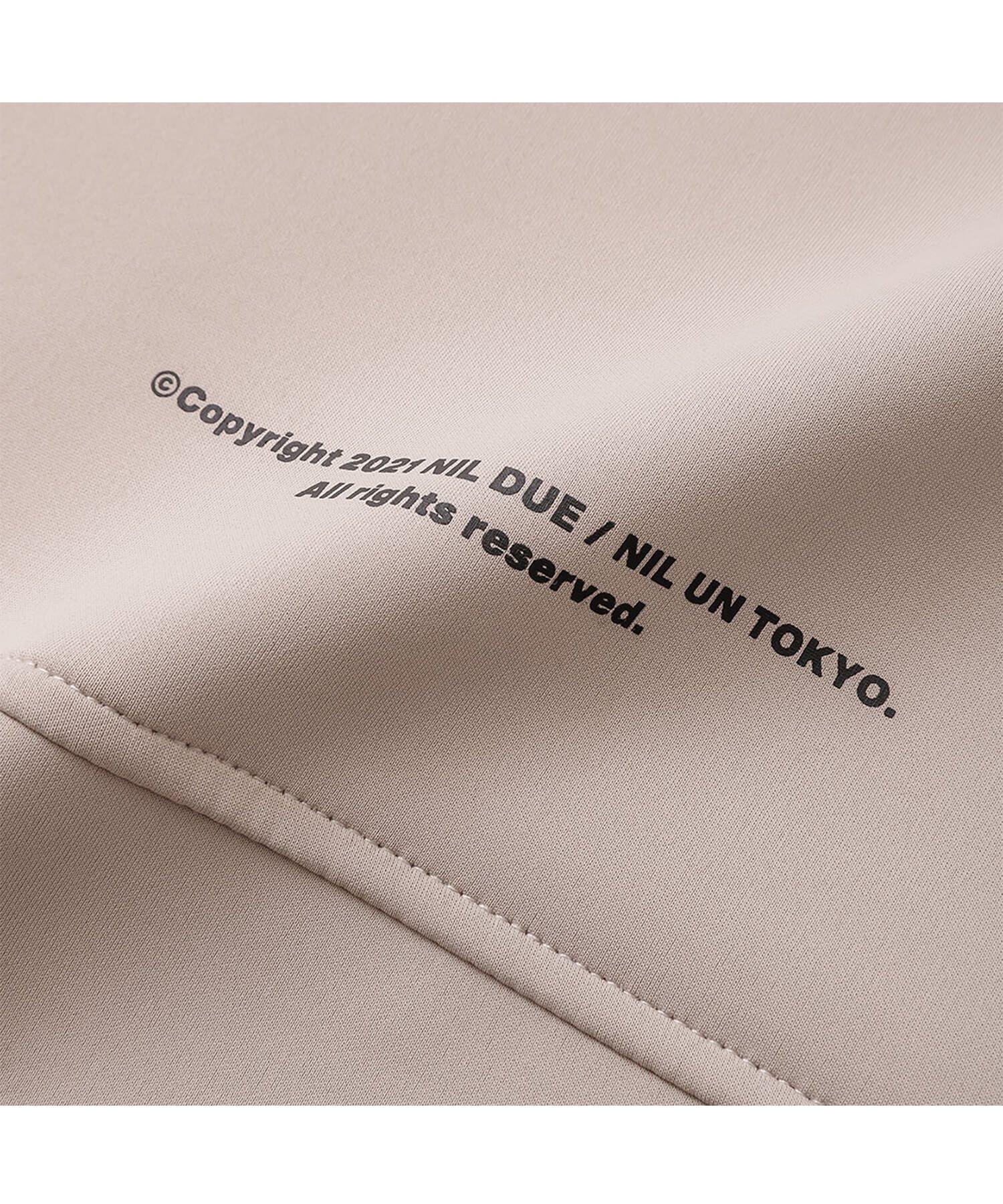 NIL DUE / NIL UN TOKYO / ニル デュエ / ニル アン トーキョー | EMBROIDERY LOGO HOODIE (SAND BEIGE) 商品画像3